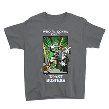 Load image into Gallery viewer, Movie The Food - Toastbusters Kid's T-Shirt - Charcoal