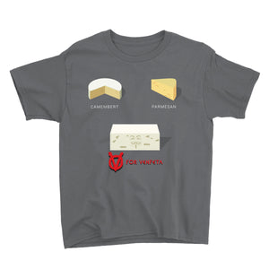 Movie The Food - V For Venfeta Kid's T-Shirt - Charcoal