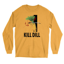 Load image into Gallery viewer, Movie The Food - Kill Dill Long Sleeve T-Shirt - Gold