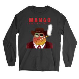 Movie The Food - Mango Unchained Long Sleeve T-Shirt - Black