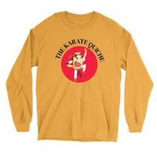 Load image into Gallery viewer, Movie The Food - The Karate Quiche Long Sleeve T-Shirt - Gold