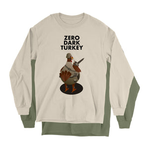 Movie The Food - Zero Dark Turkey Longsleeve T-Shirt