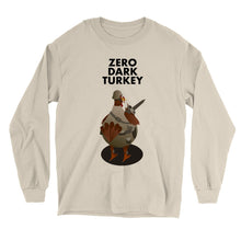 Load image into Gallery viewer, Movie The Food - Zero Dark Turkey Longsleeve T-Shirt - Sand