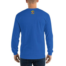 Load image into Gallery viewer, Movie The Food - Scone Alone 2 Long Sleeve T-Shirt - Royal - Model Back