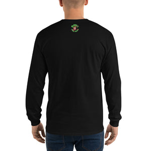 Movie The Food - Toastbusters Longsleeve T-Shirt - Black - Model Back