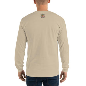Movie The Food - Zero Dark Turkey Longsleeve T-Shirt - Sand - Model Back