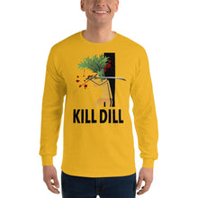 Load image into Gallery viewer, Movie The Food - Kill Dill Long Sleeve T-Shirt - Gold - Model Front