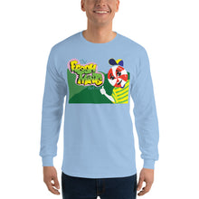Load image into Gallery viewer, Movie The Food - The Fresh Mints Of Bel-Air Long Sleeve T-Shirt - Light Blue - Model Front