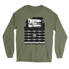 Load image into Gallery viewer, Movie The Food - Creature From The Black Macaroon Longsleeve T-Shirt - Military Green