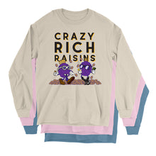 Load image into Gallery viewer, Movie The Food - Crazy Rich Raisins Longsleeve T-Shirt