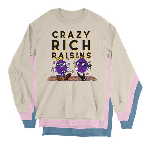Movie The Food - Crazy Rich Raisins Longsleeve T-Shirt