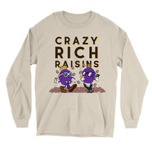 Load image into Gallery viewer, Movie The Food - Crazy Rich Raisins Longsleeve T-Shirt - Sand