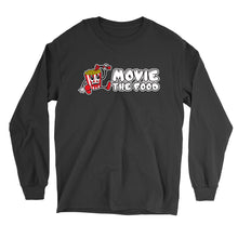 Load image into Gallery viewer, Movie The Food - Logo Longsleeve T-Shirt - Black
