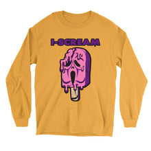 Load image into Gallery viewer, Movie The Food - I-Scream Longsleeve T-Shirt - Gold
