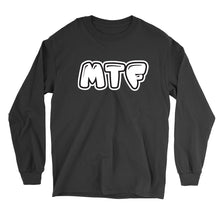 Load image into Gallery viewer, Movie The Food - MTF Logo Longsleeve T-Shirt - Black