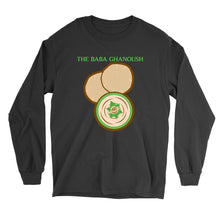 Load image into Gallery viewer, Movie The Food - The Baba Ghanoush Longsleeve T-Shirt - Black