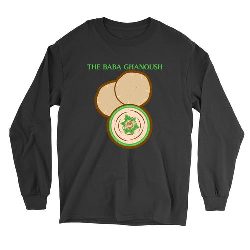 Movie The Food - The Baba Ghanoush Longsleeve T-Shirt - Black