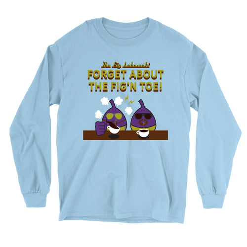 Movie The Food - The Fig Lebowski Longsleeve T-Shirt - Light Blue
