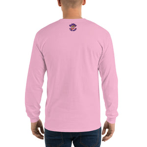 Movie The Food - Crazy Rich Raisins Longsleeve T-Shirt - Light Pink - Model Back