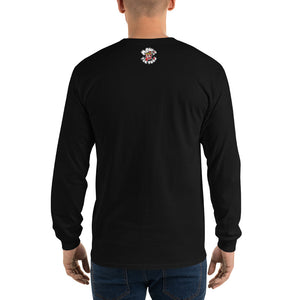 Movie The Food - Round Logo Longsleeve T-Shirt - Black - Model Back