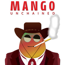 Load image into Gallery viewer, Movie The Food -Mango Unchained - Design Detail
