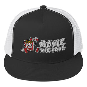 Movie The Food - Logo Classic Mesh Snapback - Black/White