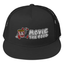 Load image into Gallery viewer, Movie The Food - Logo Classic Mesh Snapback - Black
