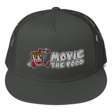 Load image into Gallery viewer, Movie The Food - Logo Classic Mesh Snapback - Charcoal