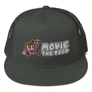 Movie The Food - Logo Classic Mesh Snapback - Charcoal