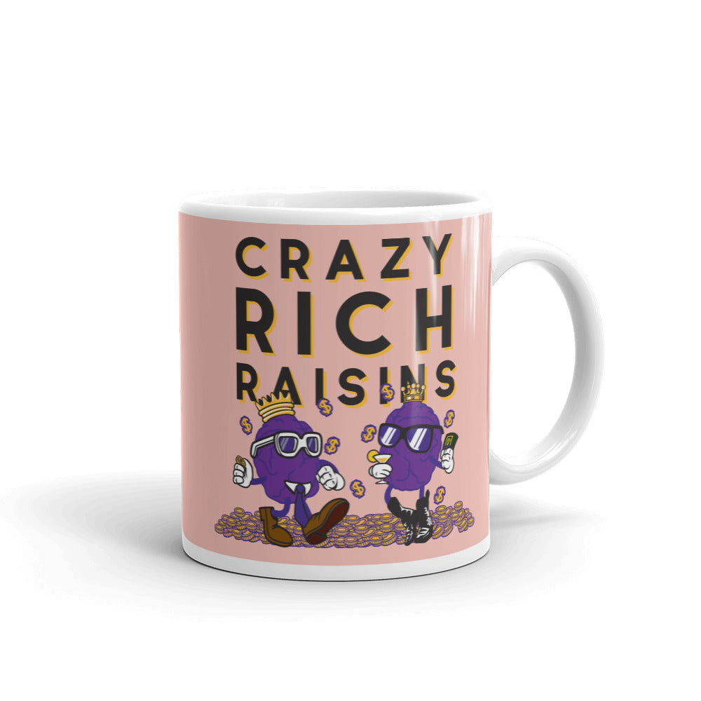 Movie The Food Crazy Rich Raisins Mug Peach 11oz