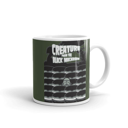 Movie The Food Creature From The Black Macaroon Mug Army 11oz