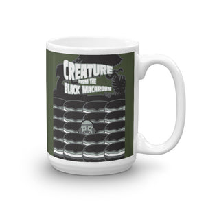 Movie The Food Creature From The Black Macaroon Mug Army 15oz