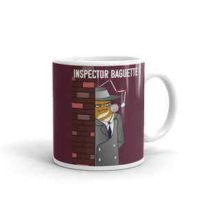 Movie The Food - Inspector Baguette Mug - Maroon - 11oz