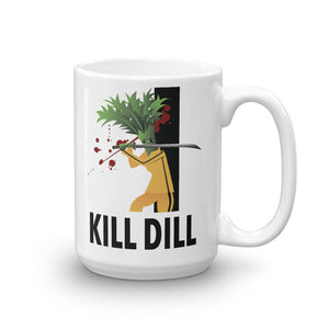 Movie The Food - Kill Dill Mug - White - 15oz