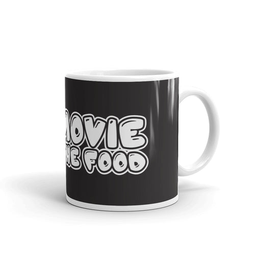 Movie The Food Logo Mug Black 11oz