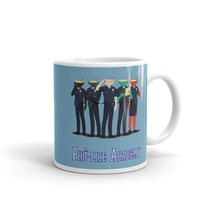 Movie The Food Pholice Academy Mug 11oz - Light Blue