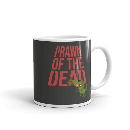 Movie The Food Prawn Of The Dead Mug Charcoal 11oz