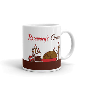 Movie The Food Rosemary's Gravy Mug White 11oz