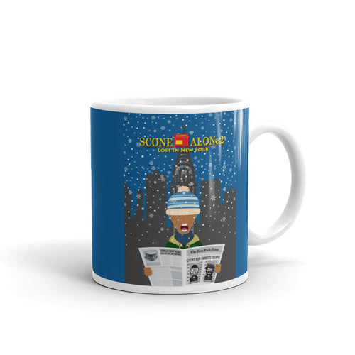 Movie The Food - Scone Alone 2 Mug - Royal Blue - 11oz