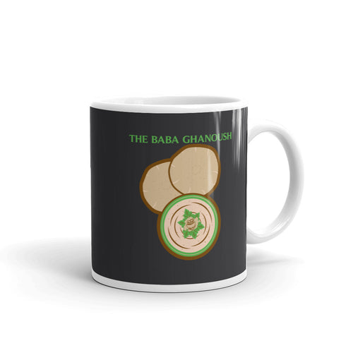 Movie The Food The Baba Ghanoush Mug Charcoal 11oz