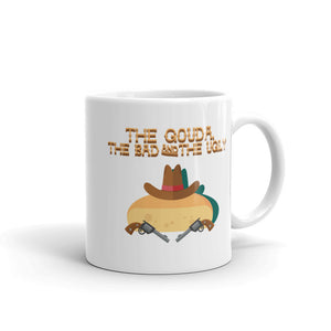 Movie The Food The Gouda, The Bad, The Ugly Mug White 11oz