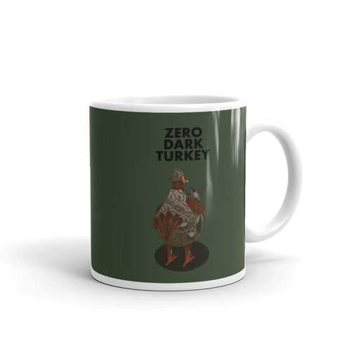Movie The Food - Zero Dark Turkey Mug - Military Green - 11oz