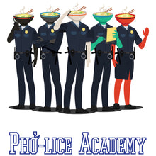 Load image into Gallery viewer, Movie The Food - Pho-lice Academy - Design Detail