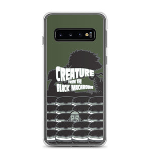 Movie The Food Creature From The Black Macaroon Samsung Galaxy S10 Phone Case