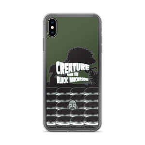Movie The Food Creature From The Black Macaroon iPhone XS Max Phone Case