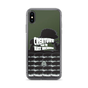 Movie The Food Creature From The Black Macaroon iPhone X/XS Phone Case