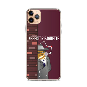 Movie The Food - Inspector Baguette - iPhone 11 Pro Max Phone Case