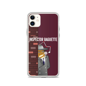 Movie The Food - Inspector Baguette - iPhone 11 Phone Case