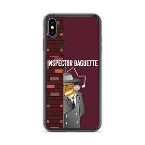 Movie The Food - Inspector Baguette - iPhone XS Max Phone Case