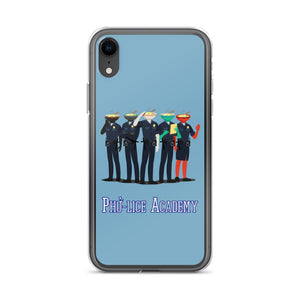 Movie The Food Pholice Academy iPhone XR Phone Case